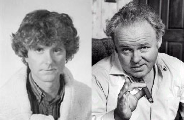 Kevin Padian and Archie Bunker