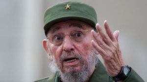 Fidel Castro, in his declining years